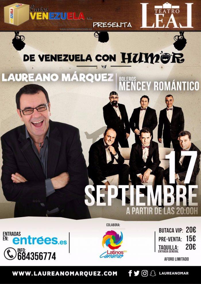 Laureano Márquez se va de gira por España