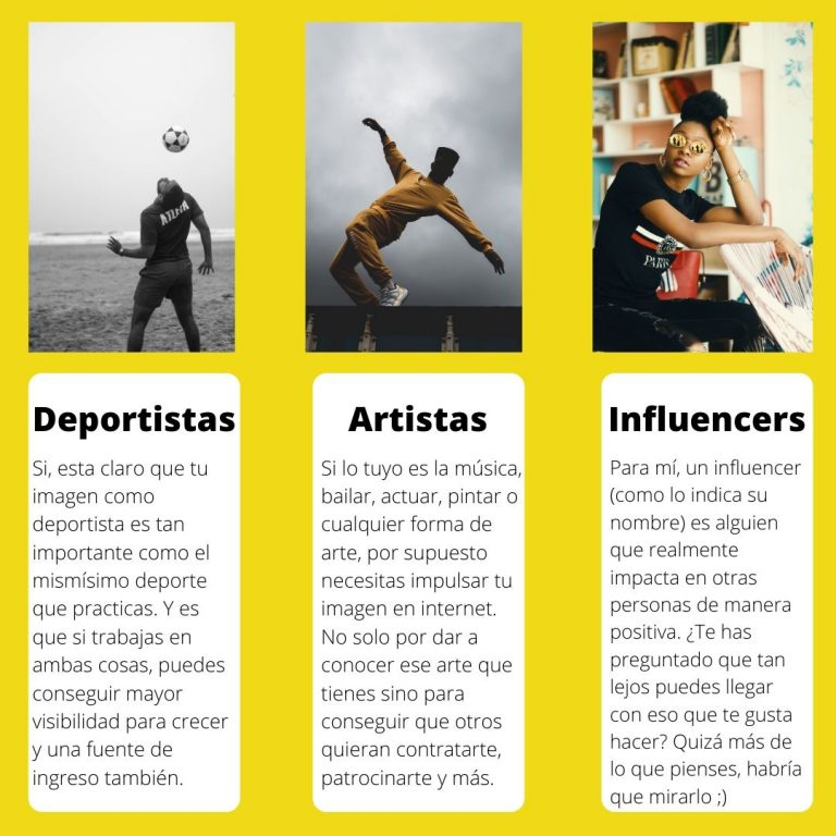deportistas influencers